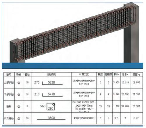 图4:根据钢筋结构模型生成初步料单.png