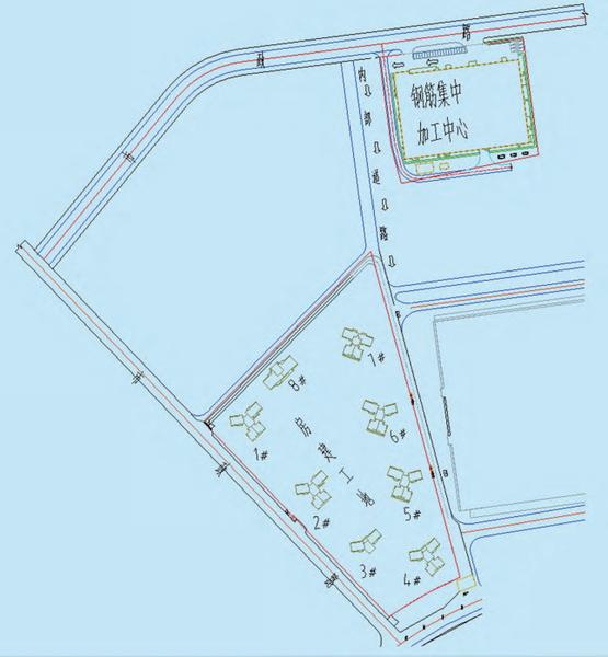图1凤桐花园项目与钢筋集中加工厂平面图.png